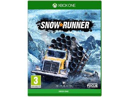 XBOX ONE snowrunner CZ