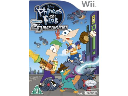 Wii Phineas and Ferb Across the 2nd Dimension
