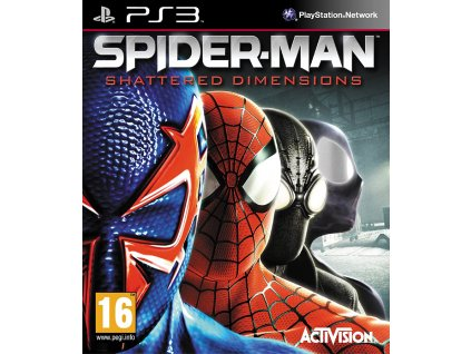 PS3 Spider Man Shattered Dimensions