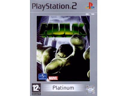 PS2 Hulk PLATINUM