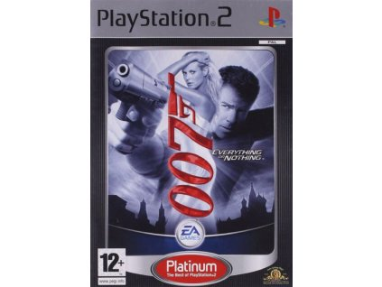 PS2 James Bond 007 Everything or Nothing PLATINUM