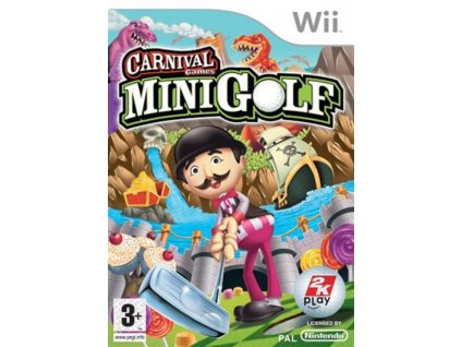 Wii carnival minigolf