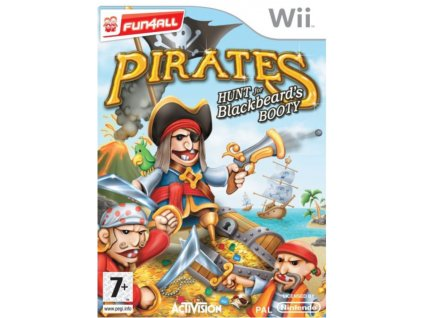 wii pirates hunt for blackbeard's booty