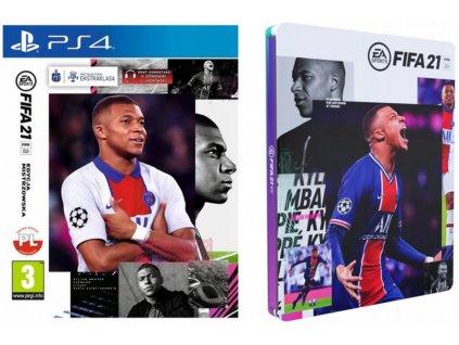 PS4 Fifa 21 Steelbook eidtion