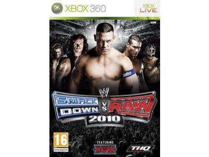 XBOX 360 WWE SmackDown vs Raw 2010