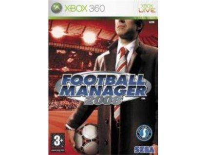 XBOX 360 Fotball manager 2008