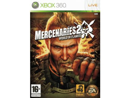 XBOX 360 Mercenaries 2: World in Flames