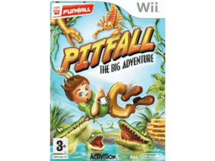 Wii Pitfall The Big Adventure