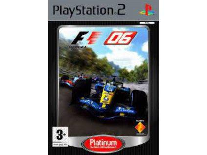 PS2 F1 06 PLATINUM