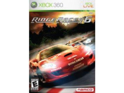 XBOX 360 Ridge Racer 6