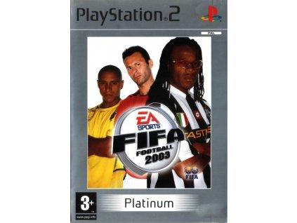 PS2 FIFA Football 2003 PLATINUM