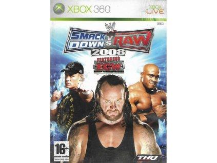 XBOX 360 WWE SmackDown vs. Raw 2008