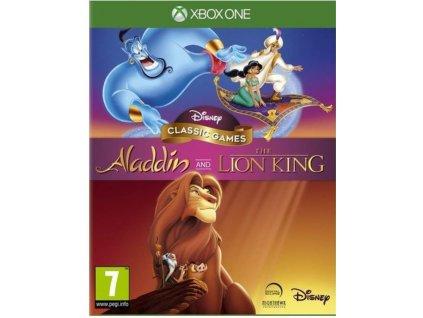 XBOX ONE Disney Classic Games Aladdin & The Lion King