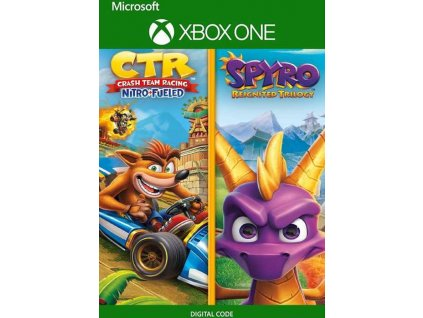 XBOX ONE Crash Team Racing: Nitro Fueled & Spyro: Reignited Trilogy