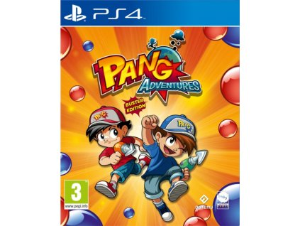 PS4 Pang Adventures Buster Edition