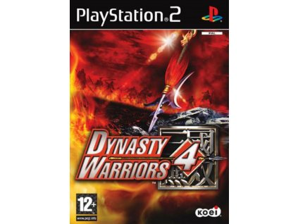 PS2 Dynasty Warriors 4