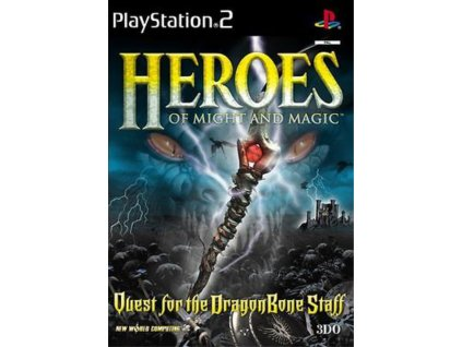 Heroes of Might and Magic Quest for the Dragon Bone Staff (PS2)
