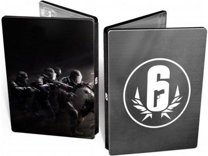 PS4 Tom Clancys Rainbow Six Siege Steelbook