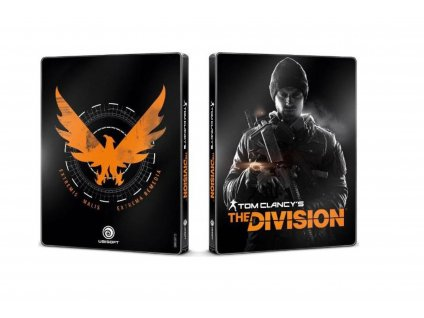 PS4 Tom Clancys division Steelbook
