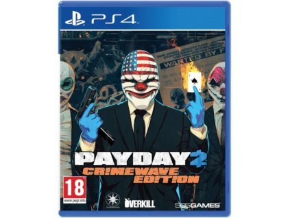 PS4 PayDay 2 (Crimewave Edition)