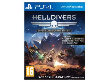 PS4 Helldivers Super Earth Ultimate Edition