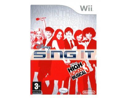 Wii Disney Sing It! – High School Musical 3 Senior Year