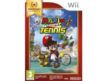 Wii mario power tennis selects