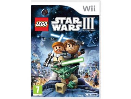 Wii Lego Star Wars 3 The Clone Wars