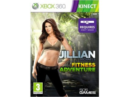 Xbox 360 Jillian Michaels Fitness Adventure