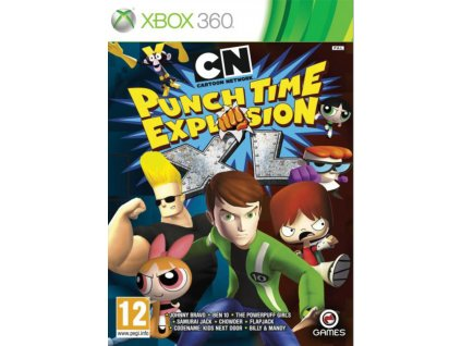 XBOX 360 xbox 360 Cartoon Network Punch Time Explosion