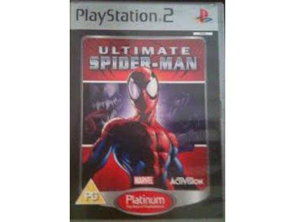 PS2 Ultimate SpiderMan platinum