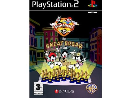 PS2 Animaniacs: The Great Edgar Hunt