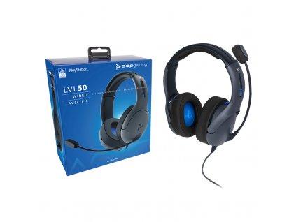 PS4 / PS5 PDP LVL50 kabelová sluchátka