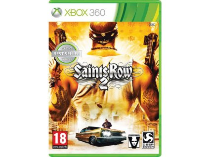 XBOX 360 Saints Row 2