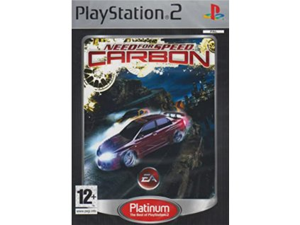 PS2 Need for Speed Carbon PLATINUM