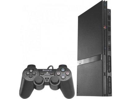 Playstation 2 SLIM SILVER SCPH 75003