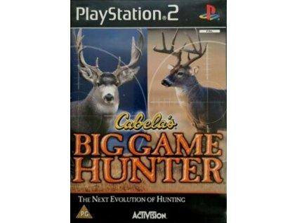ps2 cabela's big game hunter