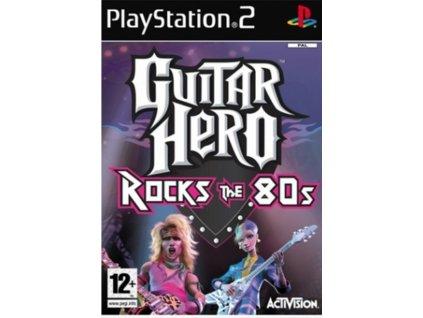 PS2 Guitar Hero Rocks The 80s