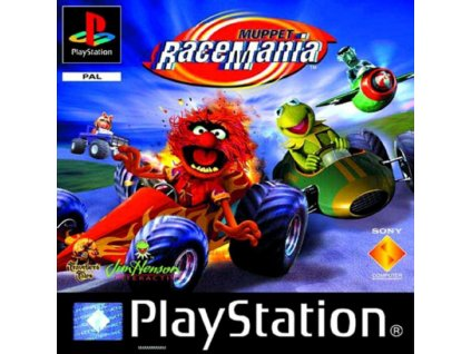 PS1 Muppet RaceMania