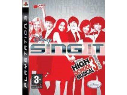 PS3 Disney Sing It! – High School Musical 3 Senior Year
