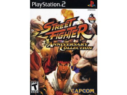 Street Fighter Anniversary Collection ps2