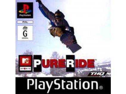 PS1 MTV Sports Pure Ride