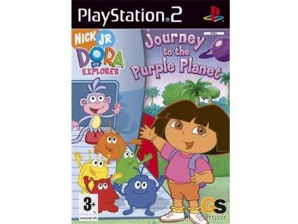 PS2 Dora the Explorer Journey to the Purple Planet