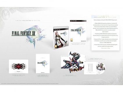 PS3 Final Fantasy XIII - Collector's Edition