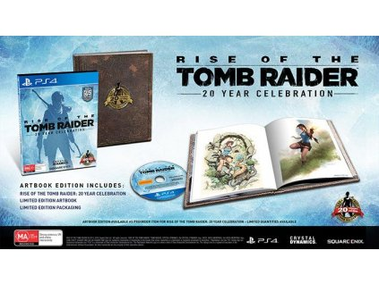 PS4 Rise of the Tomb Raider (20 Year Celebration Edition) (Artbook Edition)