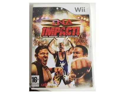 Wii TNA iMPACT! Total Nonstop Action Wrestling