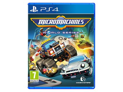PS4 Micro Machines: World Series (nová)