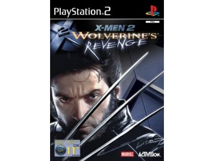 PS2 X-Men 2 Wolverines Revenge