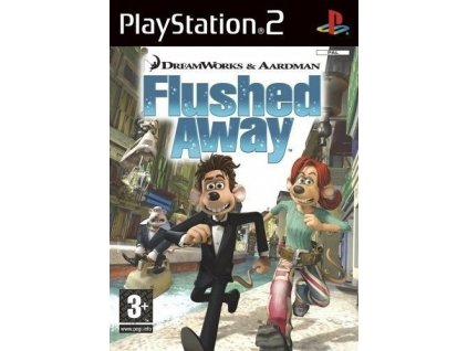 PS2 Flushed Away