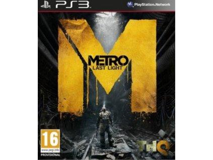 PS3 Metro Last Light